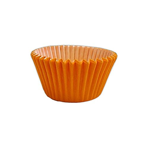 12 Muffinförmchen: Orange / 12 Muffin Cases: Orange von Holly Cupcakes