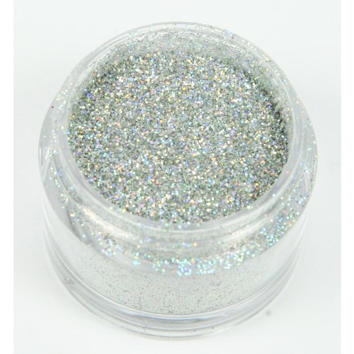 Schillerndes Dekorations Glitzer: Silber Hologram/Holly Cupcakes Decorating Glitter: Silver Hologram von Holly Cupcakes