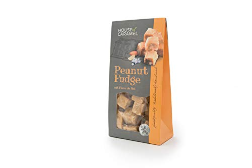 House of Caramel Peanut Fudge mit Fleur de Sel, 120 g von House of Caramel