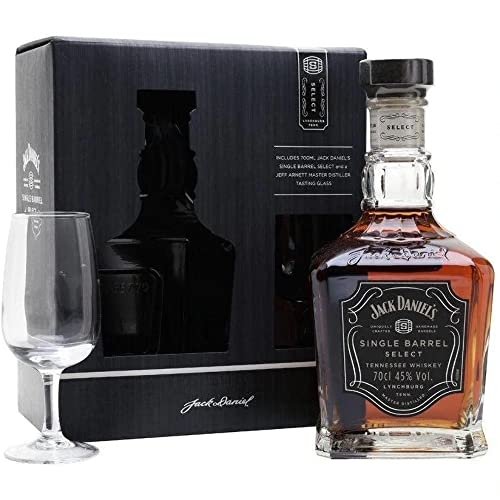 Jack Daniels's Bourbon Whisky with Glass Gift Set von Jack Daniel's