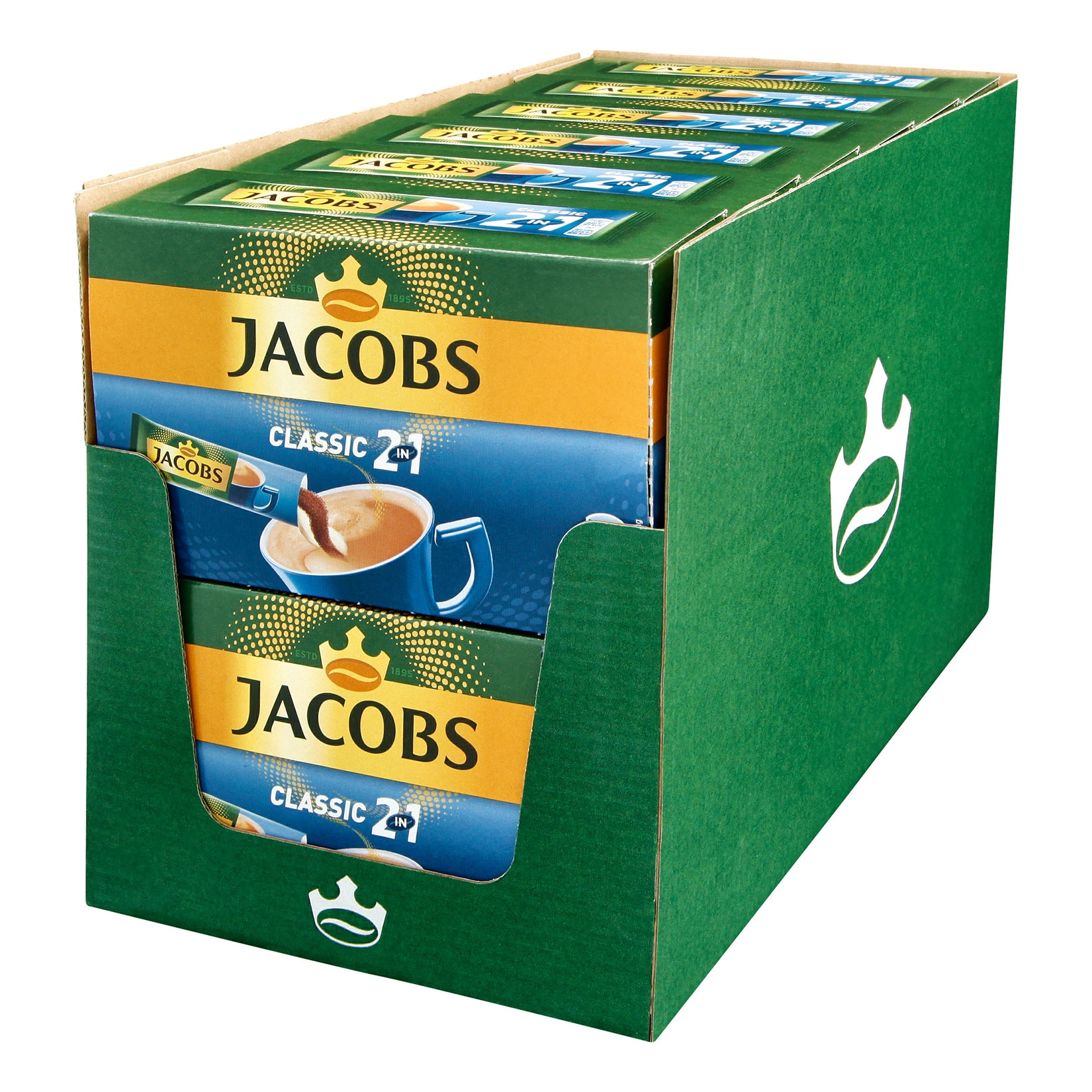 Jacobs Kaffeesticks 2in1 140 g, 12er Pack von Jacobs