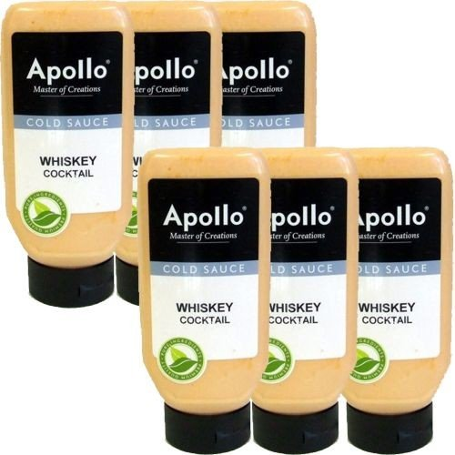Apollo Gewürz-Sauce 'WHISKEY-COCKTAIL SAUS' 6 x 670ml von Jadico