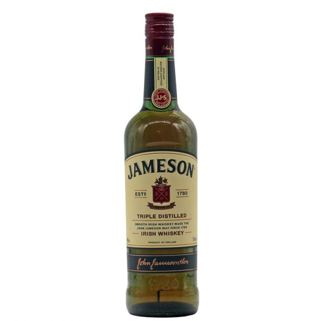 John Jameson Triple Distilled Irish Whiskey 0,7 L 40%vol von Jameson