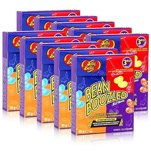 10x Jelly Belly Bean Boozled Jelly Beans Flip Top Box 45g von Jelly Belly