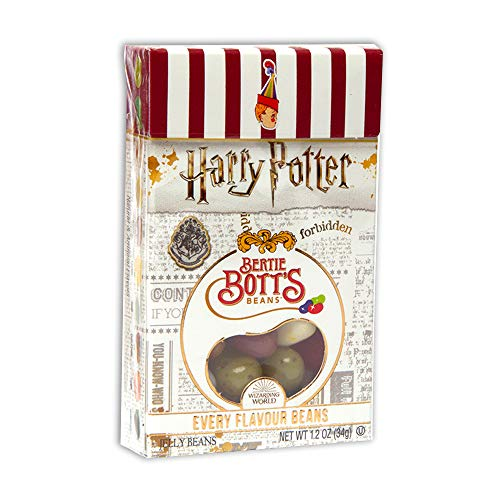 Harry Potter Bertie Bott's Every Flavour Jelly Belly Beans 1.2 OZ (34g) (3 Boxes) von Jelly Belly