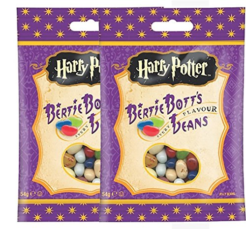 Harry Potter Bertie Bott's Every Flavour Jelly Belly Beans - 2 Pack (2x 54g) von Jelly Belly