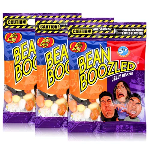 Jelly Belly Bean Boozled Jelly Beans 54g Beutel 3rd Edition (3er Pack) von Jelly Belly