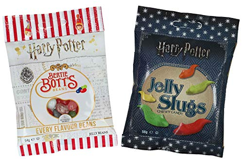 Jelly Belly Bertie Botts Bohnen (54 g) und Jelly Slugs (56 g) von Jelly Belly