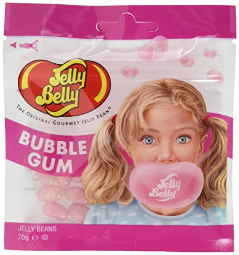Jelly Belly Bubble Gum, Beutel, 1er Pack (1 x 70 g) von Jelly Belly