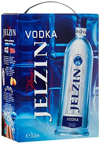 Jelzin Vodka Bag-in-Box (1 x 3 l) von Jelzin