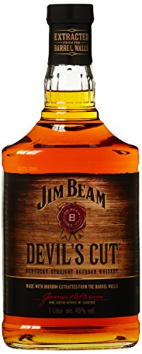 Jim Beam Devil's Cut 90 Proof Kentucky Straight Bourbon Whisky (1 x 1 l) von Jim Beam