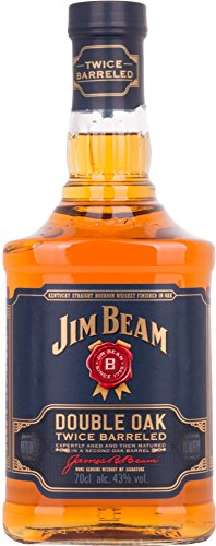 Jim Beam Double Oak Bourbon Whiskey (1 x 0.7 l) von Jim Beam