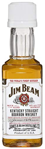 Jim Beam - Kentucky Straight Bourbon Whiskey - 12 x 50 ML von Jim Beam