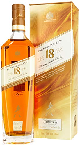 Johnnie Walker Ultimate 18 Years + GB  Whisky (1 x 1000 ml) von Johnnie Walker