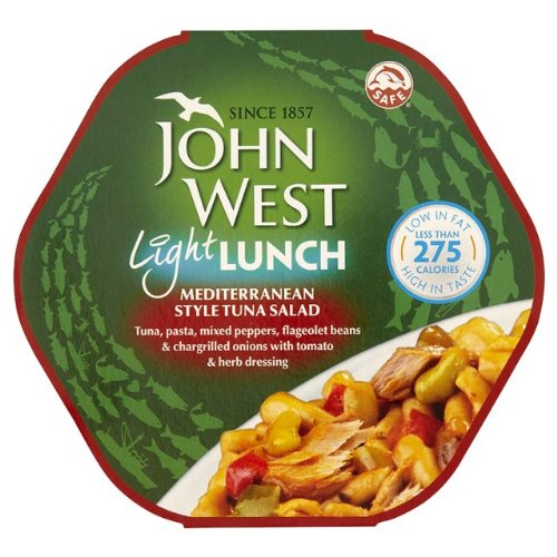 John West Mediterranean Tuna Light Lunch 4x220g von John West