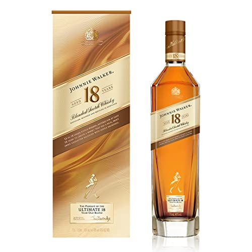 Johnnie Walker 18 Years Old The Pursuit of Ultimate Whisky, Blend mit Geschenkverpackung (1 x 0.7 l) von Johnnie Walker