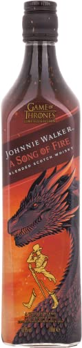 Johnnie Walker A Song of Fire – Blended Scotch Whisky, Haus Targaryen Game of Thrones Limited Edition, 70 cl, 40,8% von Johnnie Walker
