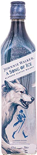 Johnnie Walker A Song of Ice – Blended Scotch Whisky, Haus Stark Game of Thrones Limited Edition, 70 cl, 40,2% von Johnnie Walker