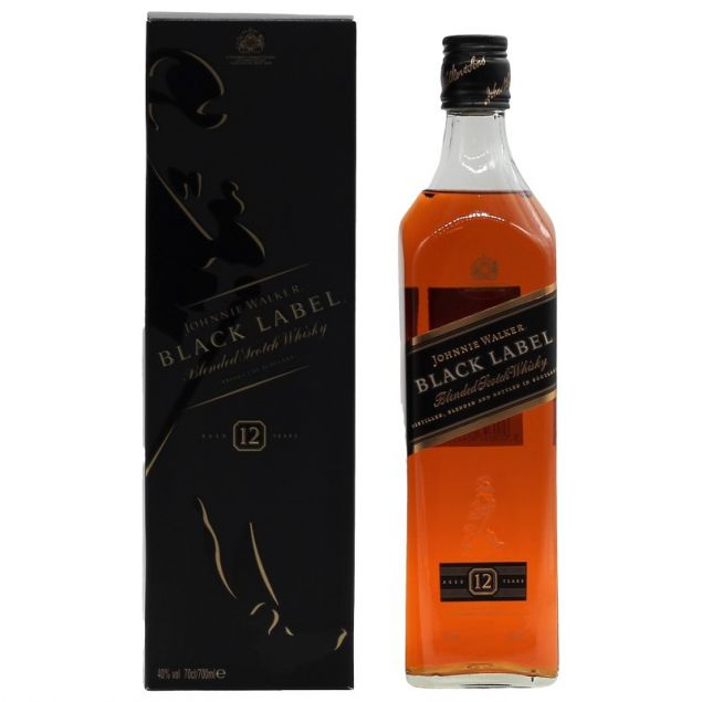 Johnnie Walker Black Label 0,7 Ltr. 40%vol von Johnnie Walker