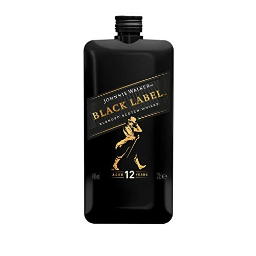 Johnnie Walker Black Label Scotch Whisky Pocket Edition - 200 ml von Johnnie Walker