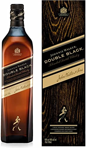 Johnnie Walker Double Black Label Blended Scotch Whisky (1 x 0.7 l) von Johnnie Walker