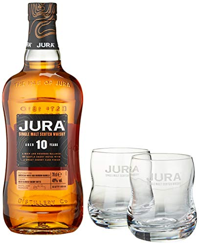 Jura 10 Years Old Single Malt Scotch Whisky (1 x 0.7 L) von Jura