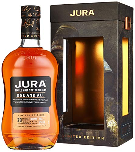 Jura 20 Years Old One And All Limited Edition mit Geschenkverpackung (1 x 0.7 l) von Jura