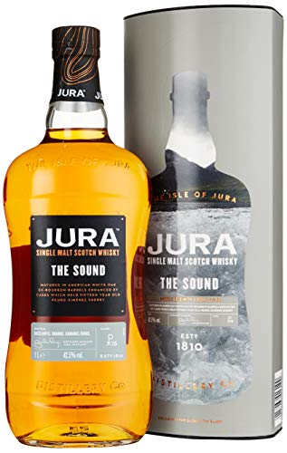 Jura THE SOUND Single Malt Scotch mit Geschenkverpackung Whisky (1 x 1 l) von Jura