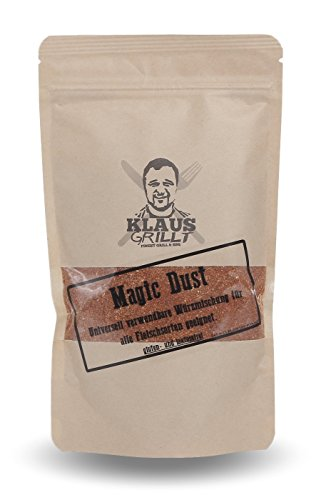 Klaus grillt Magic Dust Rub, 1er Pack (1 x 750 g) von Klaus grillt