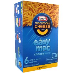 Kraft Macaroni and Cheese - Easy Mac Microwavable 12.9 OZ (366g) von Kraft Foods