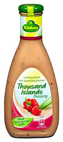 Kühne Dressing Thousand Islands, 7er Pack (7 x 500 ml) von Kühne