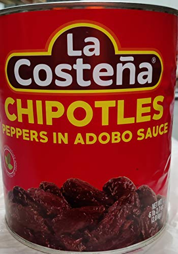 La Costena Chili Chipotle, 1er Pack (1 x 2,8 kg) von La Costena