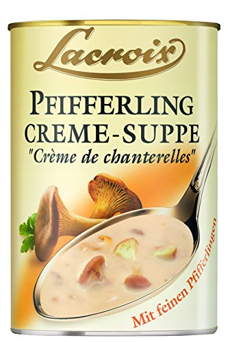 Lacroix Pfifferling-Creme-Suppe, 3er Pack (3 x 400 ml) von Lacroix