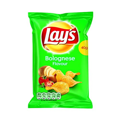 Lay's Bolognese-Chips - 20 Beutel x 40 Gramm von Lay's