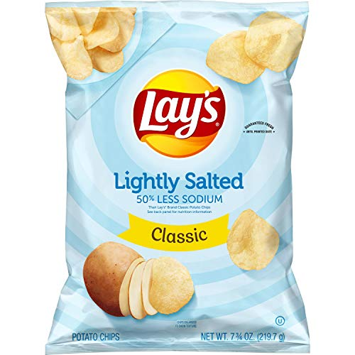 Lay's Lightly Salted Classic Potato Chips - 7.75oz von Lay's
