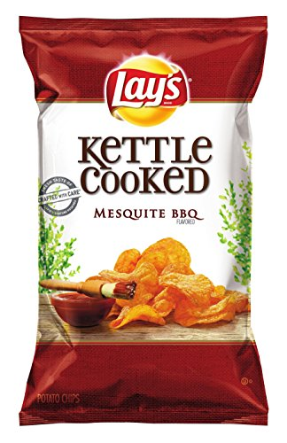 Lay's Mesquite BBQ Flavored Kettle Cooked Potato Chips - 8oz von Lay's