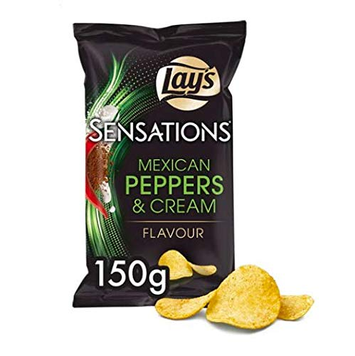 Lay's Sensations Mexican Peppers & Cream von Lay's