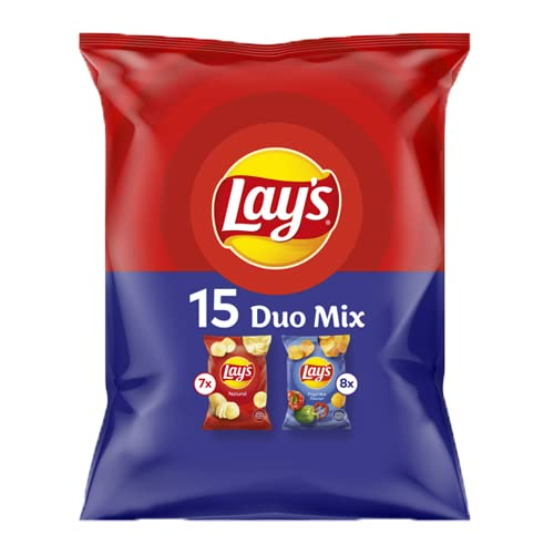 Lays Chips 15 Duo Pack 440g paprika naturel gesalzene chips von Lays