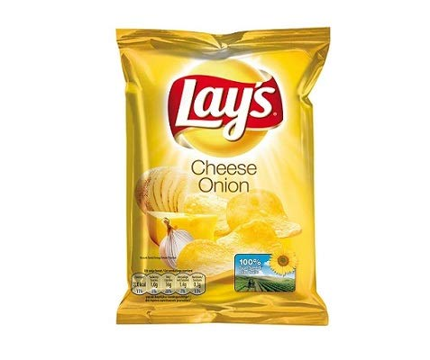 Lays Chips Cheese Onion 14 x 40 g kleine tüten chips von Lays