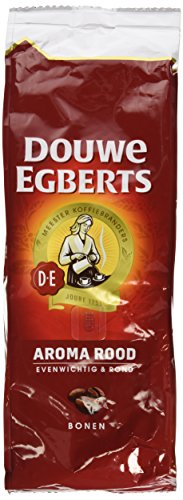 2 Packs Douwe Egberts Aroma Rood Whole Beans Coffee x 17.6oz/500g von Douwe Egberts