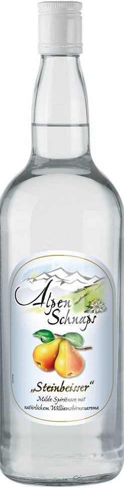 Alpenschnaps Williamsbirne 35% 1l
