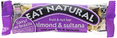 Eat Natural | Brazil; Sultana; Almond; Hazel | 12 X 50G von Eat Natural