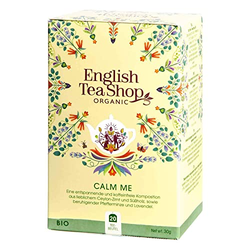 English Tea Shop - Calm Me, BIO Wellness-Tee, 20 Teebeutel von English Tea Shop
