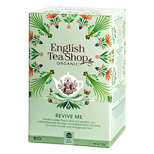 English Tea Shop - Revive Me, BIO Wellness-Tee, 20 Teebeutel von English Tea Shop