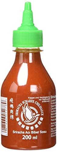 Flying Goose Brand - Sriracha Hot Chilli Sauce - 200ml von Pak. Indien Shop