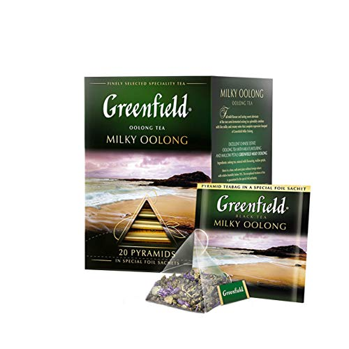 Greenfield Tea, Milky Oolong, 20 Count by Krasniy October, Inc von Greenfield