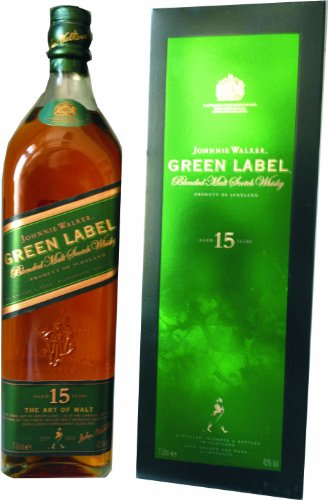 Johnnie Walker Green Label 15 Jahre 1 Liter von JOHNNIE WALKER