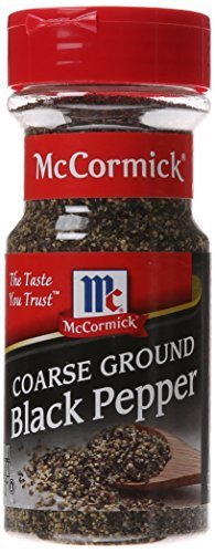 McCormick Black Pepper, Coarse Ground, 3.12 Ounce by McCormick von McCormick
