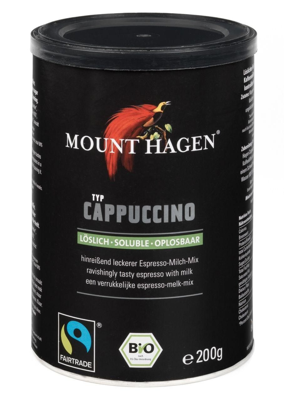 Mount Hagen Fairtrade Cappuccino Dose