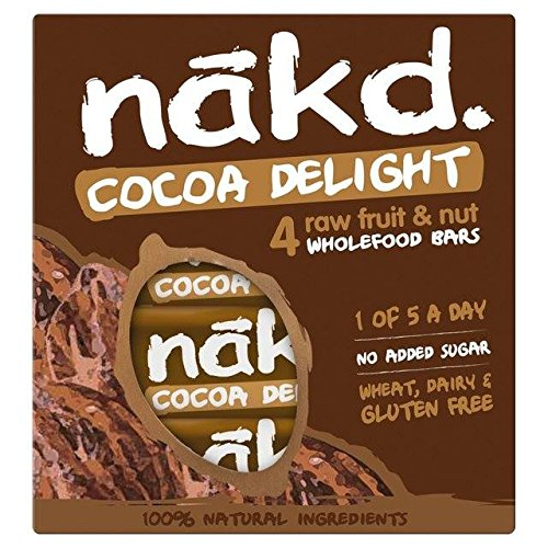 Nakd Free From Cocoa Delight Multipack 4 x 35g von Nakd